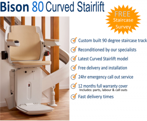 bison stairlifts example