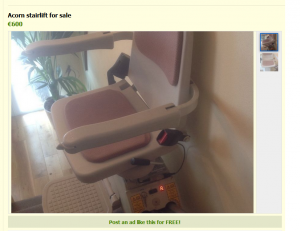 secondhand-stairlift