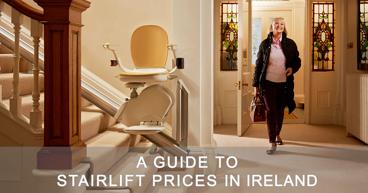 a guide to stairlift prices in ireland